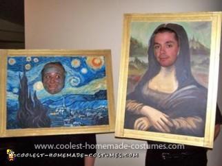 Homemade Art Masterpieces Costumes