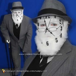 Homemade  Father Time Costume