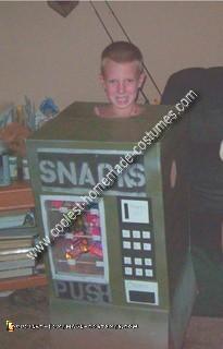 Homemade Snack Machine Costume