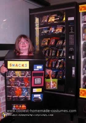 Homemade Vending Machine Costume