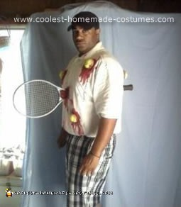 Wrecked Tennis Player