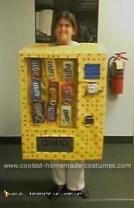 Homemade M&Ms Vending Machine Costume